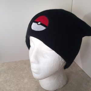 Pokémon black knit beanie hat unisex